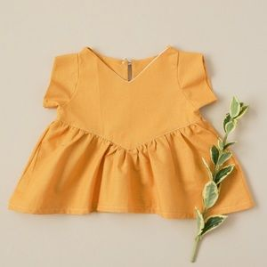 Other - Mustard Tunic Size 9M